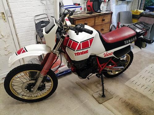 SOLD - 1984 Yamaha XT600 Tenere
