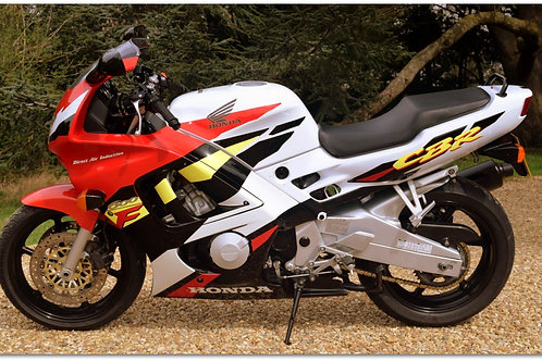 SOLD - 1996 Honda CBR600F just 13,700 miles