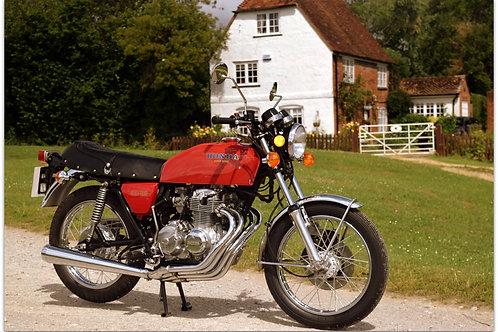 SOLD 1975 HONDA 400 FOUR 8,800 MILES