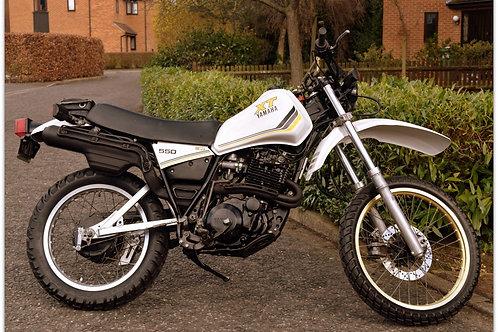 SOLD - 1983 YAMAHA XT550 - 7,000 Miles