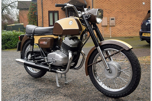 "1975 Jawa CZ250 ""Sport""  just 807 miles from new!"