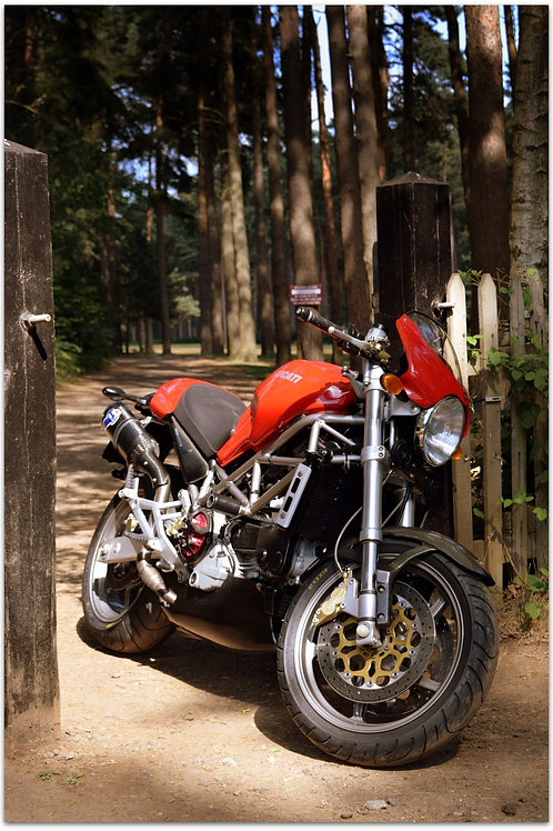 SOLD - 2002 DUCATI MONSTER S4 - JUST 12,000 MILES