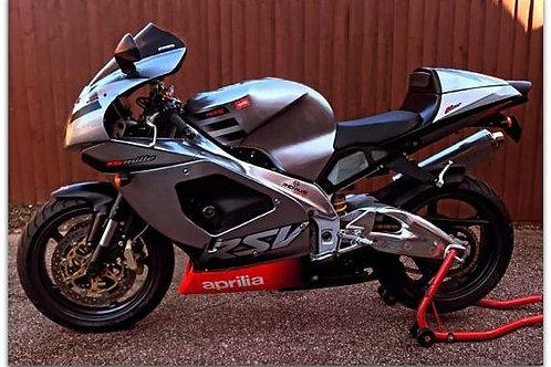 "2002 Aprilia RSV1000 ""Mille"" just 9,400 miles"