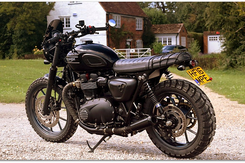 SOLD - 2016 TRIUMPH STREET TWIN CAFE RACER