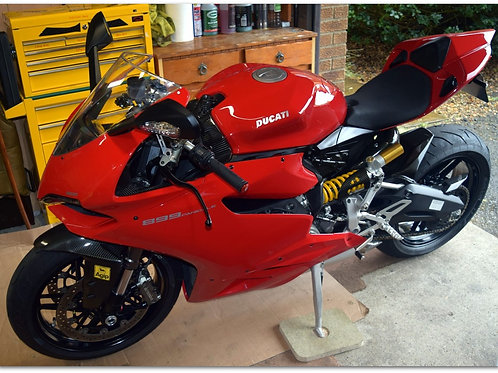 SOLD - 2015 (65) DUCATI 899 PANIGALE