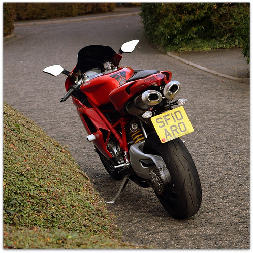 SOLD - 2010 DUCATI 848 JUST 9,141 MILES