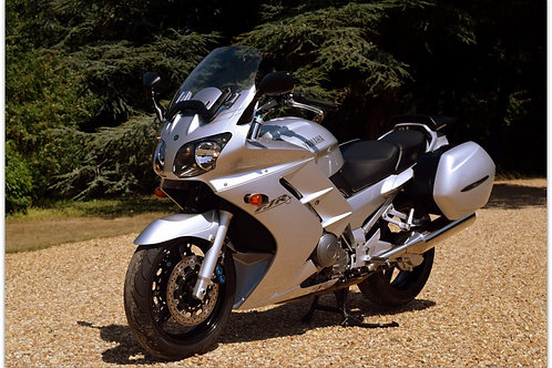 SOLD - 2002 YAMAHA FJR 1300 JUST 14,000 MILES