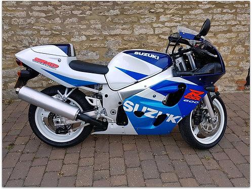 SOLD - 1998 SUZUKI GSX-R600 SRAD