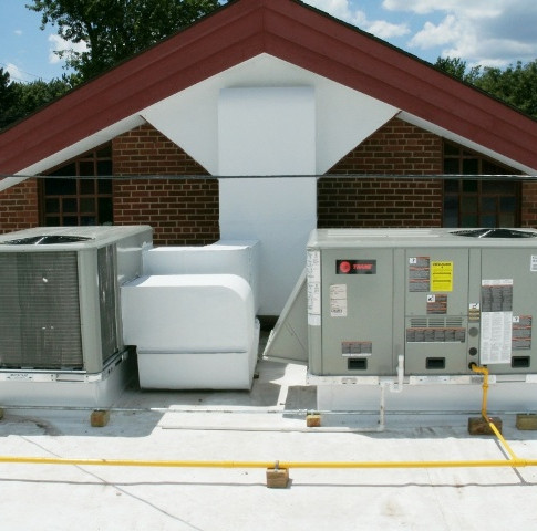 Rooftop Unit and Ductwork