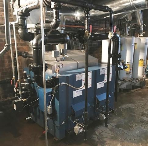 Steam Boiler Installation