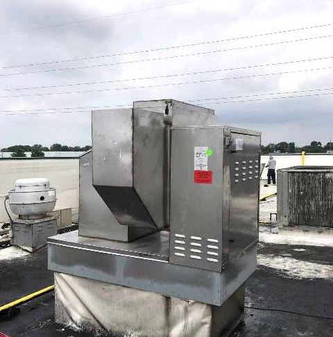 Restaurant Hood Ventilator