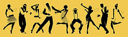 silhouettes-of-nine-people-dancing-charl
