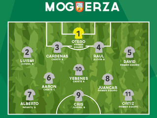 ONCE IDEAL MOGUERZA 20 MAYO