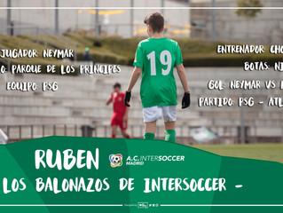 Los balonazos de InterSoccer: Rubén