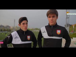 Guille y Moli debutan con el primer equipo