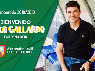 Paco Gallardo nuevo entrenador del Primer Equipo