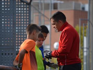 Entrevista a David González, entrenador de porteros de la Cantera Verde