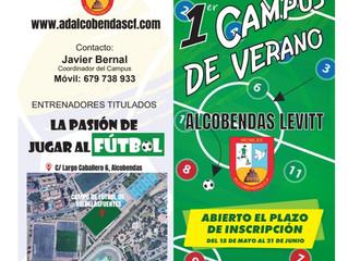 Campus de Verano. Abierto el plazo de inscripción