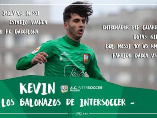 Los balonazos de InterSoccer: Kevin