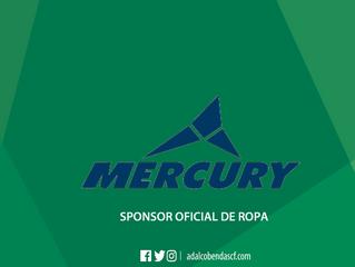 Mercury vestirá al Club la próxima temporada