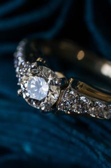 Detail wedding ring