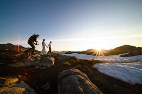 Pacific Northwest Elopement Wedding Videography