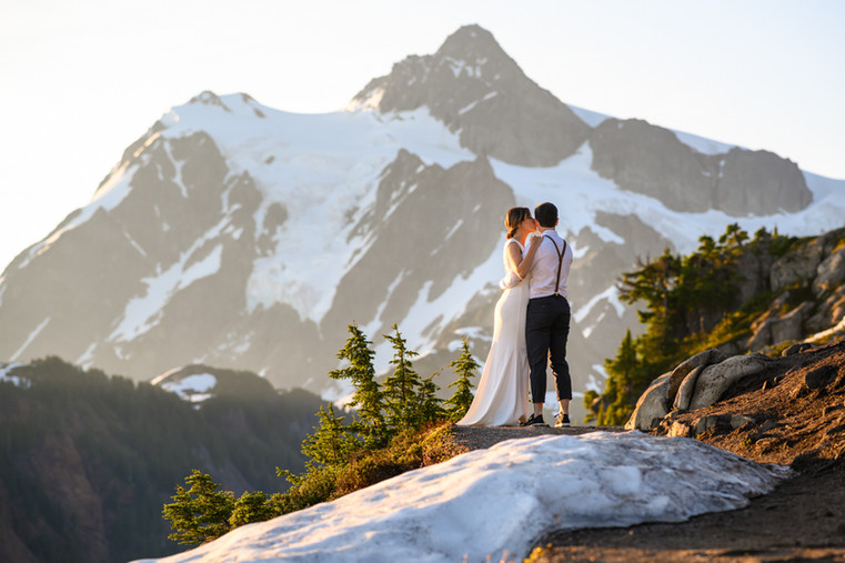 Mt. Baker Artist Lake Elopement