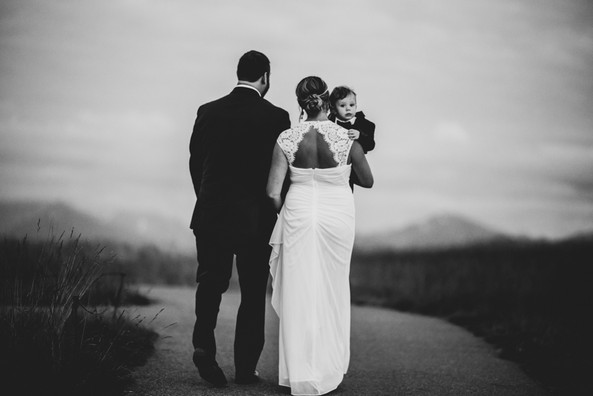 After Sunset Intimate Elopement PNW