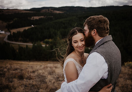 Eastern Wa Mountain Elopement Micro Wedding