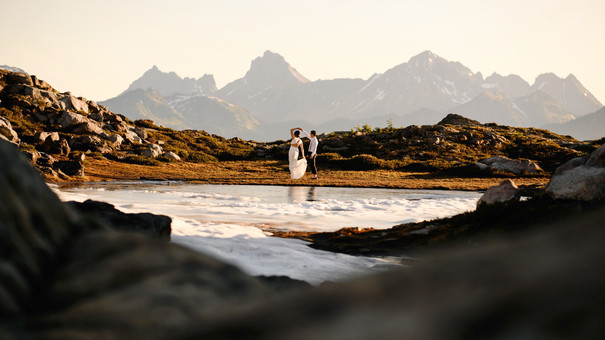 Mount Baker Artist Point Wedding Elopement