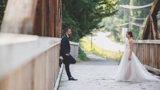 McMenamins Bothell Outdoor Wedding Photographer