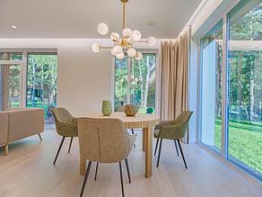 Iluminación de espacios en el hogar.