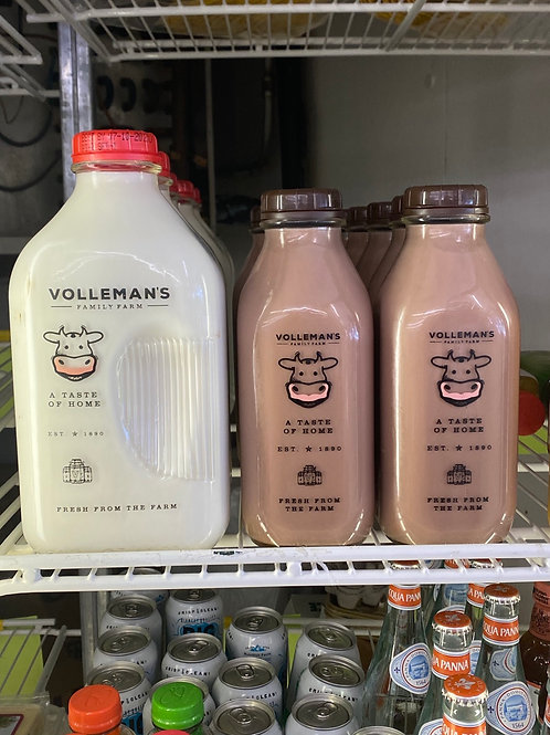 Volleman's Glass Bottle Milk