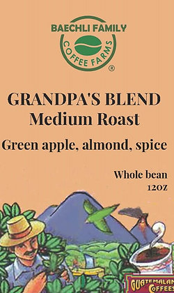 GRANDPA'S BLEND - Finca San Elias Coffee / 12oz