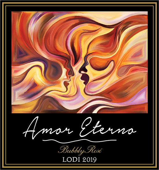 "2019 – Lodi / Gallery Series ""Amor Eterno"" - Red Bubbly (Sparkling Rosé)"