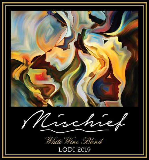 "2019 – Lodi / Gallery Series ""Mischief"" - White Blend with Natural Peach"