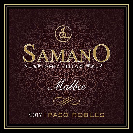 2017 Malbec - Paso Robles CA