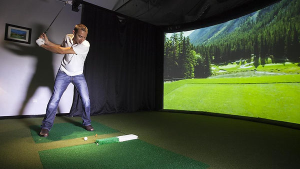 PG Indoor Golf Sim image high resolution