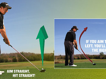 Change Your Swing Change Your Aim!