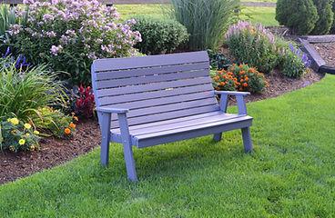 Item 853 5ft Winston Garden Bench - Dark