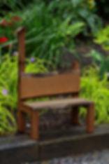 Item 8042L Bramblewood Decorative Bench