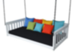 Item 3551 Twin Mission Hanging Daybed w