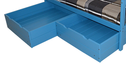 Item 3230 Twin Drawers-Caribbean Blue (2