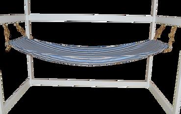 Item 1070 Twin Hammock - Blue Stripe (2)