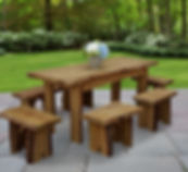Item 8260L 6ft Autumnwood Table w Items