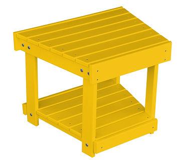Item 889 New Hope Bench-Side Table - Lem