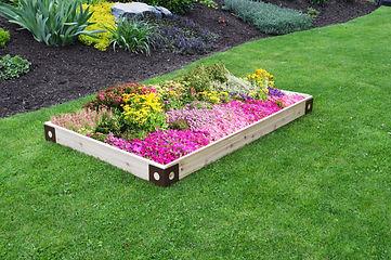 Item 785C - Raised Garden Bed w Decorati