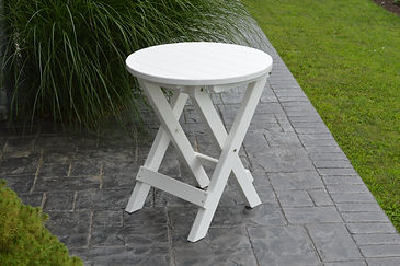 Item 4010 Round Folding Bistro Table - W
