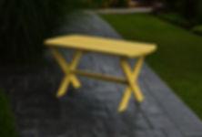 Item 896 Folding Coffee Table - Lemon Ye