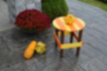 Item 887S-AUT Autumn Splendor Round Side